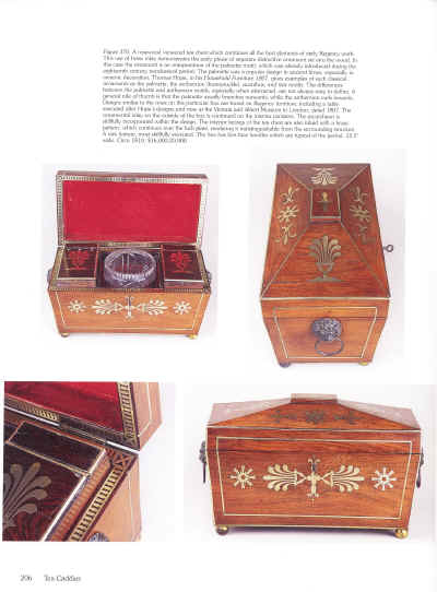 Antique Boxes, Tea Caddies, and Society, 1700--1880, Antigone Clarke & Joseph O'Kelly, A Schiffer Book for collectors.