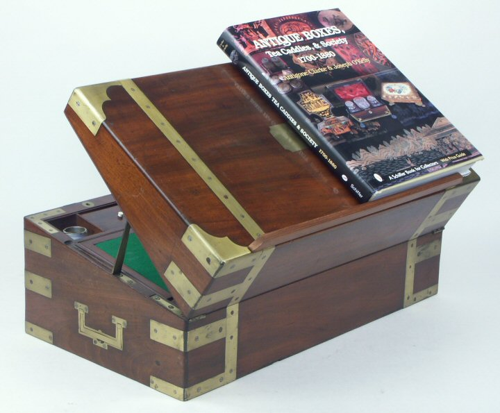 A Campaign Box With Elaborate Secret Drawers And Compartments Circa 1800 Wbagsec02 75587