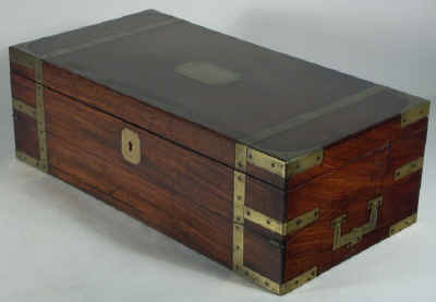 A Georgian Mahogany Triple Opening Writing Box circa 1810 wbtoma02.jpg (52370 bytes)